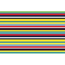 Fun Time Stripemania Kids Rug