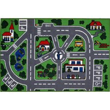 Fun Time Streets Kids Rug