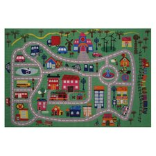 Fun Time Fun City Kids Rug
