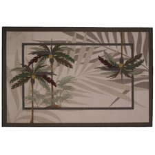 Supreme Palm Fronds Kids Rug
