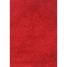 Red Shag Kids Rug
