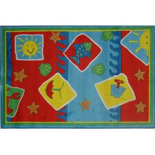 Jade Reynolds Beach Blanket Kids Rug