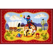 Olive Kids Ride 'Em Cowboy Kids Rug