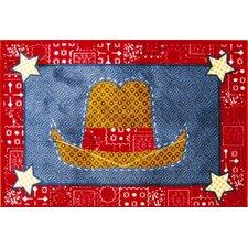 Supreme Quilt Cowboy Kids Rug