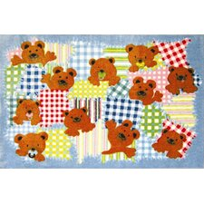 <strong>Fun Rugs</strong> Supreme Patches Bear Kids Rug