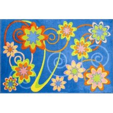 <strong>Fun Rugs</strong> Supreme Burst Flower Kids Rug