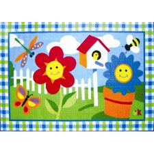 Olive Kids Happy Flowers Kids Rug