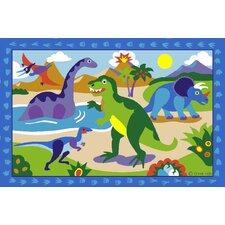 Olive Kids Dinosaurland Dinosaur Kids Rug