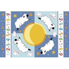 Olive Kids Sleepy Sheep Baby Kids Rug