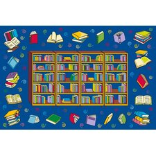 Fun Time Reading Time Kids Rug