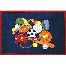 <strong>Fun Rugs</strong> Supreme American Sports Kids Rug