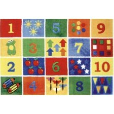 Supreme Numbers Block Kids Rug