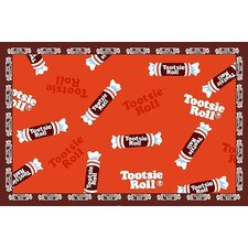 Tootsie Roll Candy Kids Rug