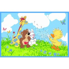 Suzy Zoo Witzy Makes A Wish Kids Rug