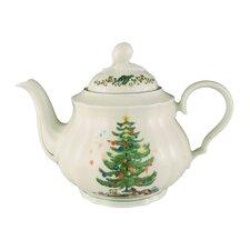 """1,15L Teekanne """"Marie-Luise"""" aus Porzellan in Weihnachten-Dekor"""