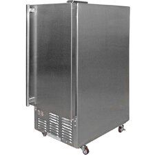 <strong>CalFlame</strong> 1.71 Cu. Ft. Built-In Outdoor Ice Maker