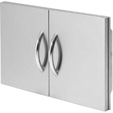"30"" Double Stainless Steel Access Door"