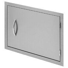"27"" Horizontal Access Door for Outdoor Grill Island"