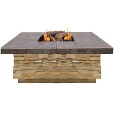 Natural Stone Propane Gas Fire Pit