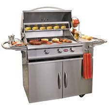 "66"" A-LA-Cart Plus 3 Burner Gas Grill"