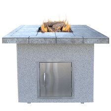 <strong>CalFlame</strong> Dining Height Gas Fire Pit