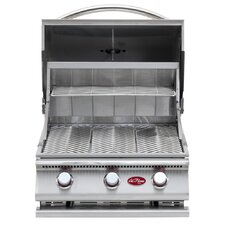 <strong>CalFlame</strong> G-Series Built-In 3-Burner Gas Grill