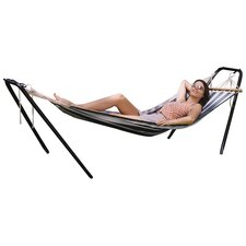 <strong>Texsport</strong> Crystal Bay Fabric Hammock with Stand Combo