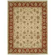 Royal Zeigler Beige/Rust Rug
