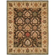 Royal Zeigler Black/Beige Rug