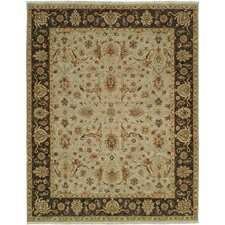 Royal Zeigler Black/Beige Mahal Rug