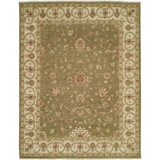 Royal Zeigler Green/Beige Rug