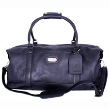 "23"" Leather World Travel Duffel"
