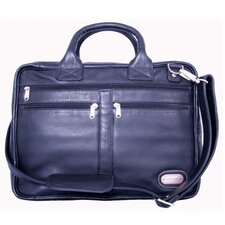 Princeton Leather Briefcase in Black