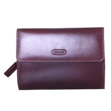 <strong>Leatherbay</strong> Ambassador Wallet in English Brown