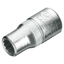 "Vanadium 1/4"" Drive 3/8"" Socket"