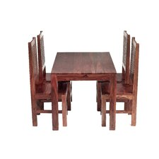 Cube Sheesham 5 Piece Dining Set