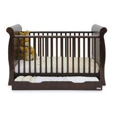 Hollie Cot and Drawer Set in Walnut