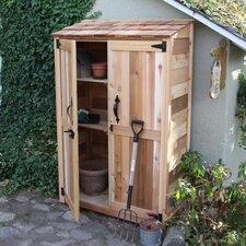 Garden Chalet 4' W x 2' D Wood Lean-To Shed
