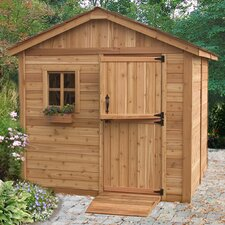 Gardenerft 8 Ft. W x 8 Ft. D Wood Garden Shed