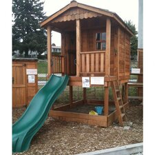 Sunflower Playhouse with Sandbox