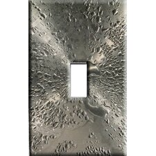 Water Drops on Stainless Steel Decorative Light Switch Cover - Single Toggle Switch