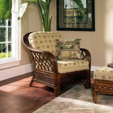 <strong>Boca Rattan</strong> Coco Cay Leather Armchair