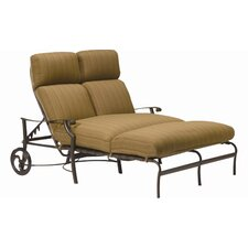 Montreux Double Chaise Lounge with Cushion