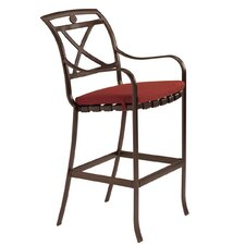 "<strong>Tropitone</strong> Palladian 32"" Barstool with Cushion"