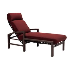 Lakeside Chaise Lounge with Cushion