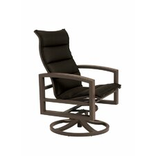 Lakeside Padded Sling Action Lounge Chair