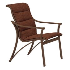 Corsica Padded Sling Dining Arm Chair