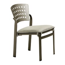 <strong>Tropitone</strong> Impressions Stacking Dining Side Chair with Cushion