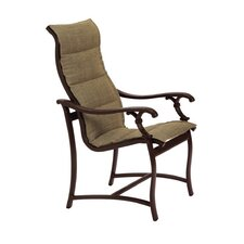 Ravello Padded Sling Dining Arm Chair
