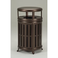 Waste Receptacle with Hood